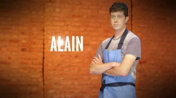 Alain a Master of Pasta