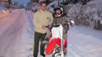 MotoGP, Pedrosa: allenamento molto divertente sulla neve