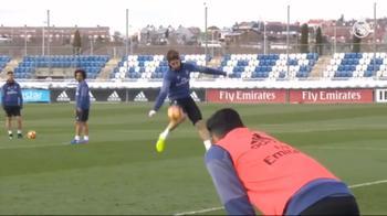 Real, Ramos show: fantastico gol al volo in allenamento
