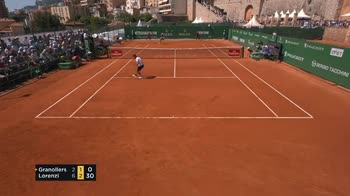 Clip tennis partita in 1 minuto