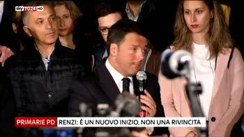 Primarie Pd, dati ufficiosi  Renzi al 70