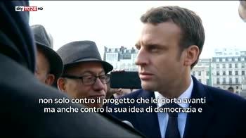 Macron vs Le Pen, la mia idea democrazia non è la sua