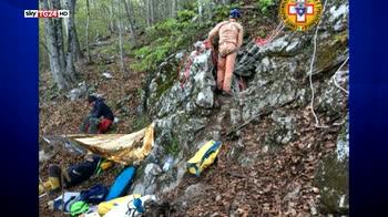 Speleologa caduta in grotta, tratta in salvo dopo 12 ore