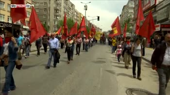 Primo maggio in Turchia, scontri e proteste a Istanbul