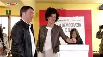 Primarie Pd, dati ufficiali certificano vittoria Renzi