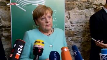 Merkel, il dibattito sul clima è insoddisfacente