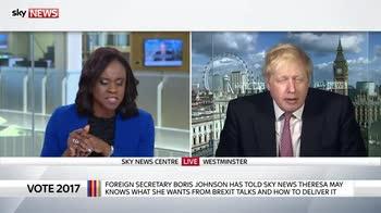 Boris Johnson defends Tory NHS spending