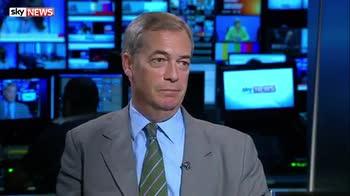 Nigel Farage plays down any FBI interest in him