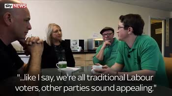 Conservatives are targeting Labour voters