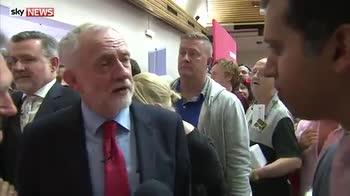 'Ich bin ein Corbyn' declares Corbyn
