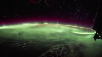 Time lapse della Aurora Boreale