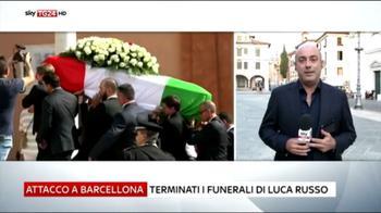 Barcellona, i funerali di Luca Russo a Bassano