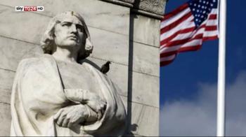 In America è scontro sulle statue di Colombo
