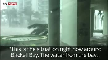 Miami woman describes flooding in the city