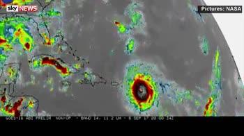 NASA animation shows ten days of Irma