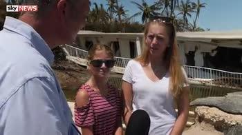 Florida residents return to destruction