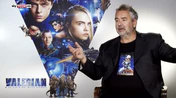Valerian, il nuovo film di fantascienza di Luc Besson