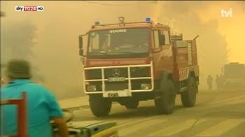 Portogallo, emergenza incendi in tutto il paese
