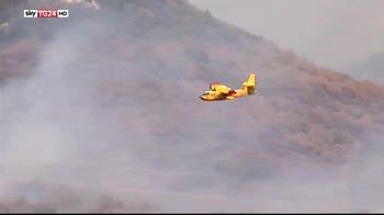 incendi Valsusa, chiusa autostrada Frejus