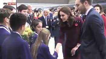 Kate 'getting used' to leaving George at school