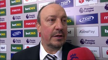 Benitez: We deserved the win