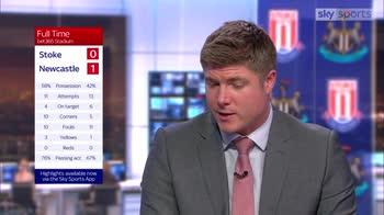 Stoke 0-1 Newcastle - Mellor