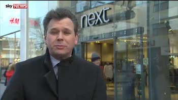 Next shares soar after surprise sales rise