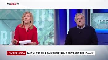 Tajani ospite de l'Intervista