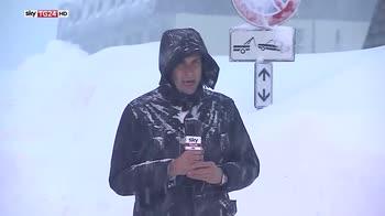 Allerta neve, altro il rischio valanghe sulle alpi occidentali