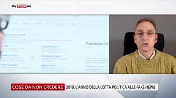 Fake news e politica, la crociata del 2018