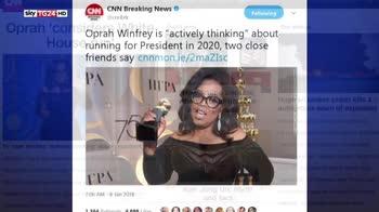 Oprah presidente, possibile corsa della star per la Casa Bianca
