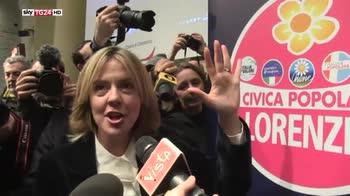 Lorenzin presenta simbolo della lista Civica Popolare