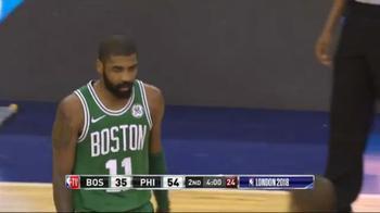 NBA, 20 punti per Kyrie Irving a Londra contro Philadelphia