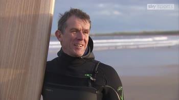 Fraserburgh's Willie West goes surfing