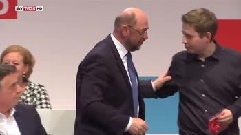 Germania, la Spd dice si alla grande coalizione