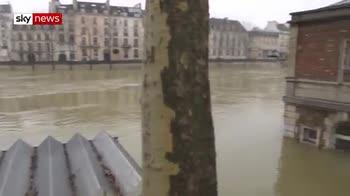 Paris under water as Seine bursts its banks