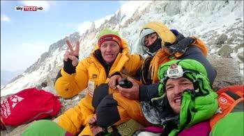 Salvataggio sul Nanga Parbat, ma un alpinista non ce la fa