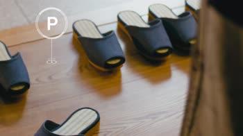 Giappone, le pantofole che si parcheggiano da sole