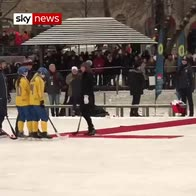 Jolly hockey sticks for Wills and Kate