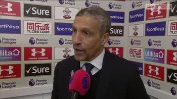 Hughton praises battling Brighton