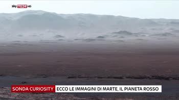 Le immagini scattate dalla sonda Curiosity