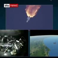 SpaceX Falcon Heavy blast-off