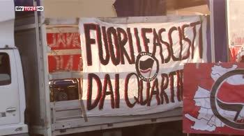 Cortei antifascisti in tutta Italia, scontri a PiacenzaI