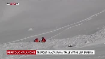 Valanghe sulle Alpi, tre morti in Francia