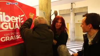 Italia 18, la campagna elettorale di Grasso in Emilia
