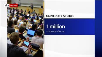 Lecturers at 64 UK universities go on strike