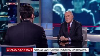 Pietro Grasso ospite di Italia 18, intervista integrale