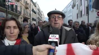 Palermo, corteo antifascista e comizio Forza Nuova