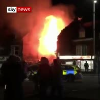 Four injured after reported explosion