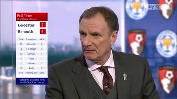 'Leicester were lethargic'